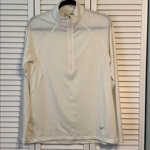 Under Armor white long sleeve size XL